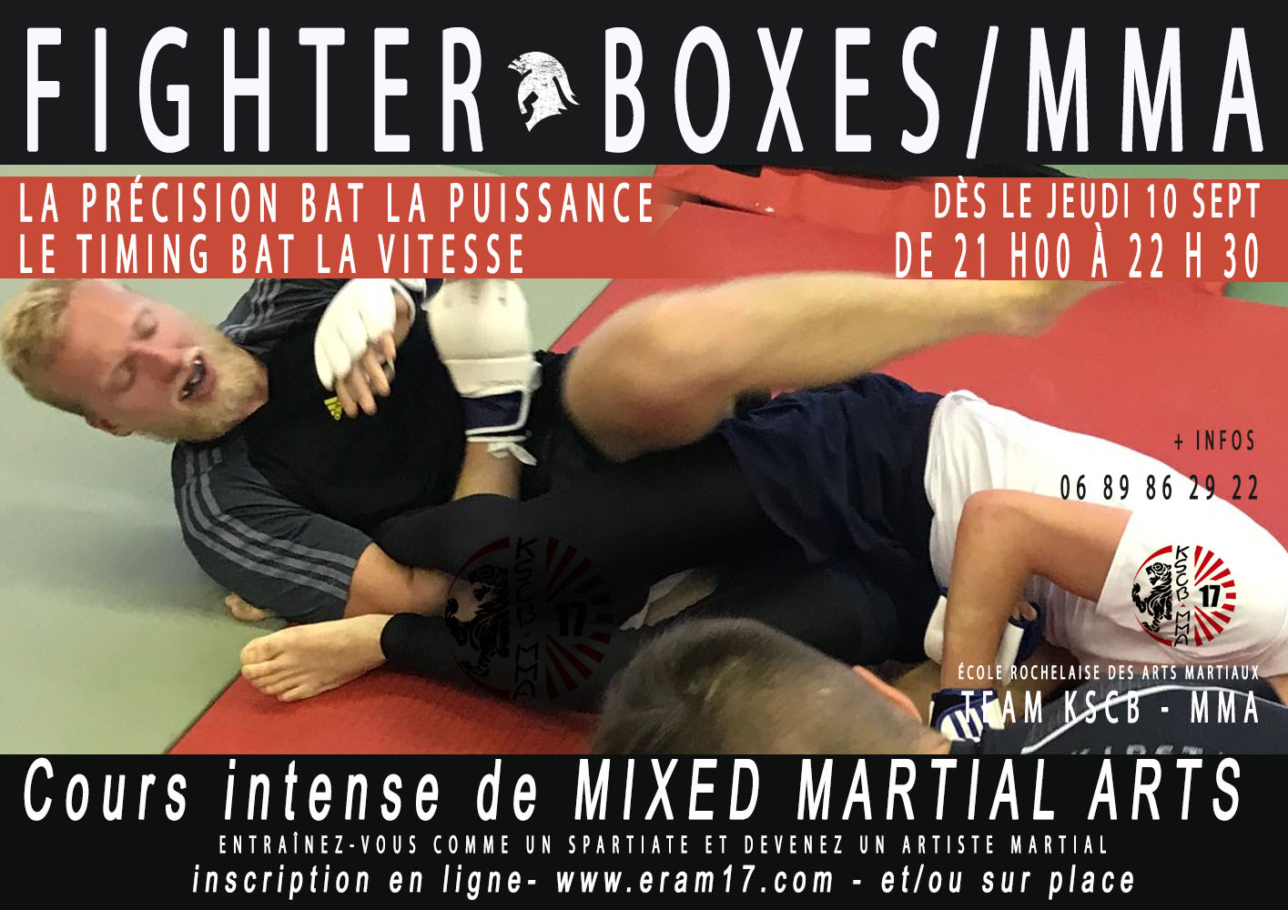 Fighter - Boxes-MMA